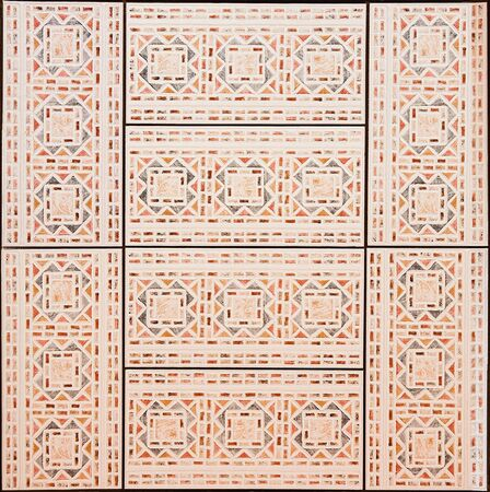 Tile with Geometric Shapes Texture
