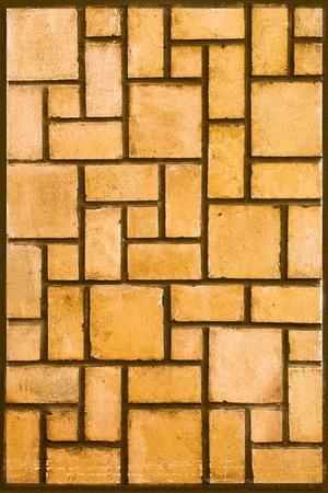 Texture of designed bricks