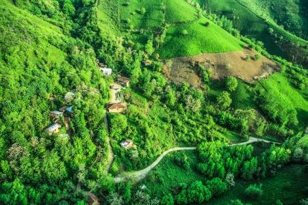 Aerial landscape