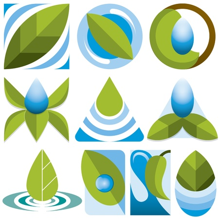 10 differents eco logos
