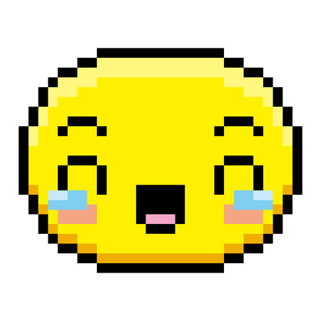 Face with tears of joy icon.
