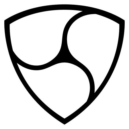 Vector NEM icon isolated on white background