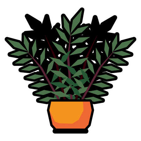 Cartoon Plant illustration.