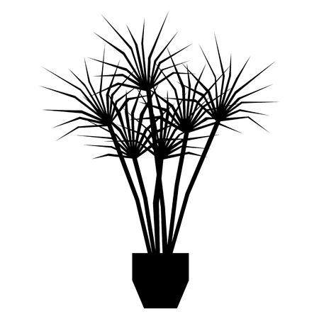 Cartoon plant illustration.  イラスト・ベクター素材