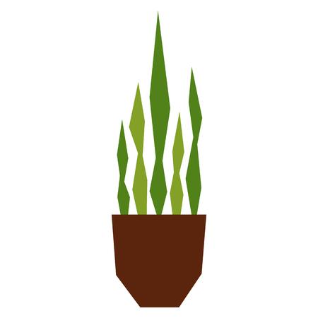 Cartoon plant illustration. Illustration