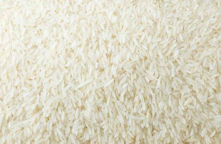 arroz: Cocina y Alimentación, Fondo de cocer largo blanco Arroz, Arroz Basmati o Jasmine Rice. Foto de archivo