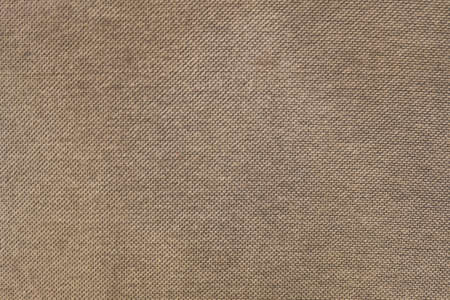 Fabric Texture, Close Up of Brown Fabric Texture Pattern Background.