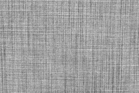 Stof Textuur, Close-up Van Zwart-wit Stof Textuur Patroon Achtergrond. Stockfoto