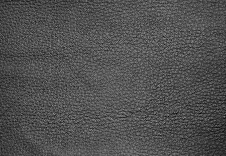 Texture de fond, Close Up de Black Leather Texture Pattern.
