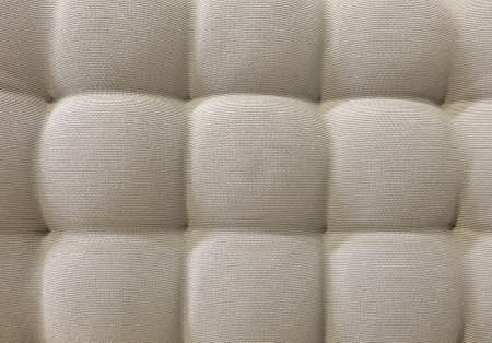 cushioning: Background Pattern, Closed up of Abstract Texture of Light Brown Fabric Sofa or Upholstery Background.