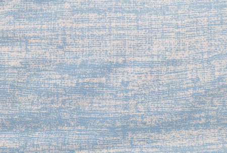 grung: Fabric Texture, Close Up of Grung White and Blue Fabric Textile Texture Pattern Background. Stock Photo
