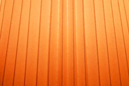 lamp shade: Fabric Texture, Close Up of Orange Pleated Textile Pattern Background with Light.