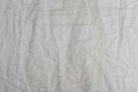 Fabric Texture, Close Up of Gray Crumpled Fabric Texture Pattern Background.