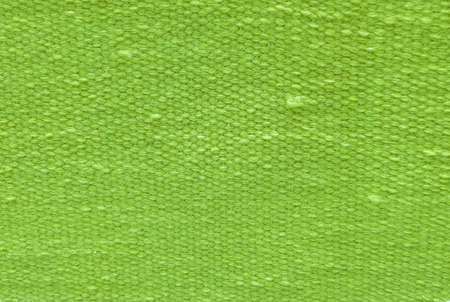 Fabric Texture, Close Up of Green Cotton Pattern Background with Copy Space for Text Decoration.