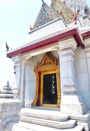 The Bangkok City Pillar Shrine or San Lak Mueang at Bangkok, Thailand. Stock Photo