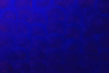Background Pattern, Blue Spiral or Swirl Seamless Pattern Background or Texture with Copy Space for Text Decorated.