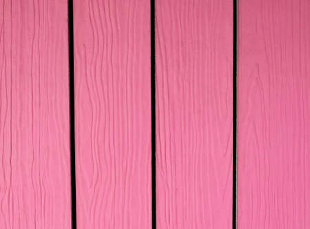Background Pattern, Horizontal Pink Artificial Wood Texture with Copy Space for Text Decorated.