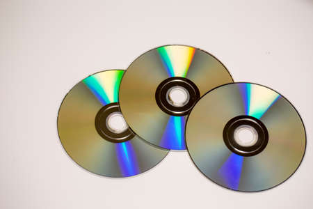 optical disk: disk Stock Photo