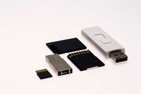 old pc: Memory Flash Drive Stock Photo