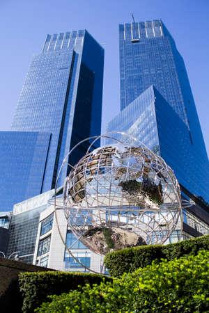 chrom: Time Warner Center Globe