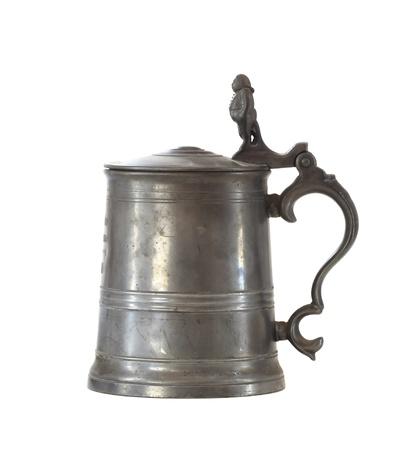 vintage beer iron mug photo