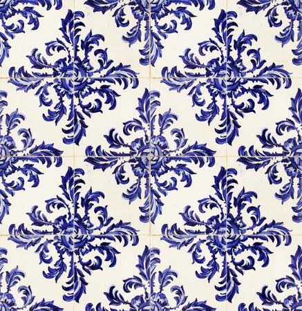 shiny floor: vintage portuguese tiles