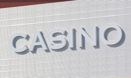 casino outdoor street sign photo