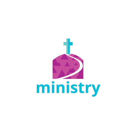 people in church: ministry icon