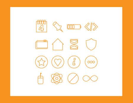 communicatio: set of web icons