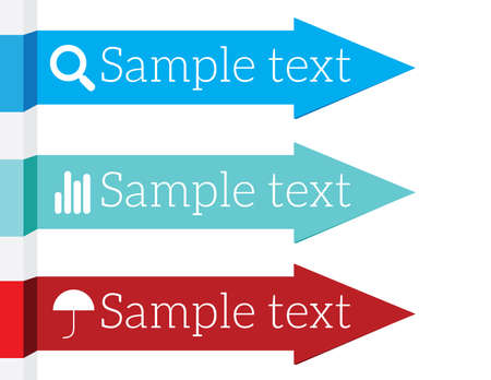 inforgraphic: Inforgraphic elements arrows