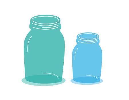 Set of Jars Vectors