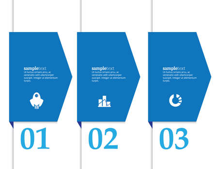 phonographic: Minimal infographics. Vector banner can be used for workflow layout diagram number options, web design