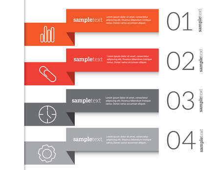 net trade: Infographic design background. Eps 10 vector file