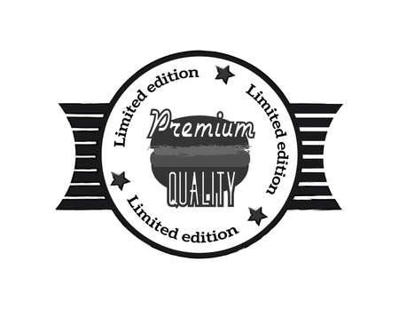 logo de comida: logotipo de la comida r�pida de la vendimia Vectores