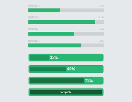 barra: preloaders y barras de progreso de carga, establece una diapositiva