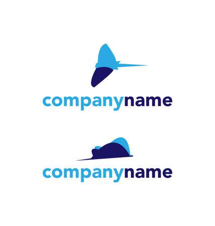 Ray logo set on a white background