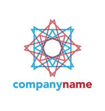 modern business: Modern abstract logo design, business icon