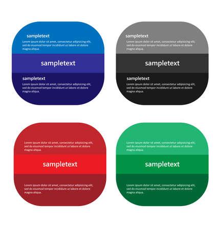 Infographics Vector illustratie. kan worden gebruikt voor workflow layout banner diagram aantal opties, step-up mogelijkheden, web design Stock Illustratie