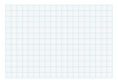 A7 graph paper Illustration
