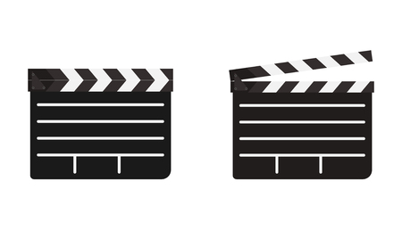 Clapboard open and closed