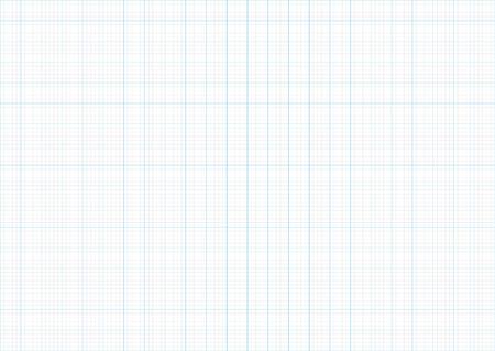 Graph paper grid line blue