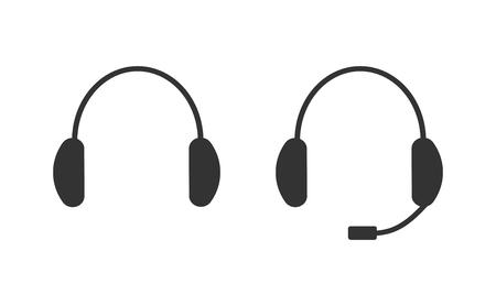 Earphone icons 向量圖像