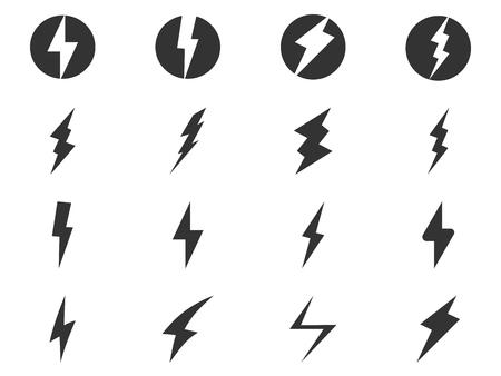 Bolts icon set 向量圖像