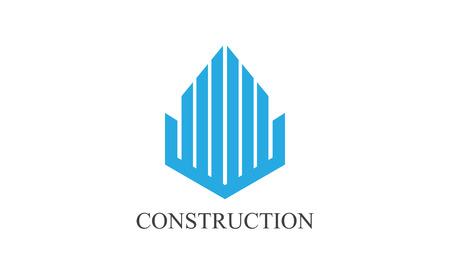 Construction logo 向量圖像