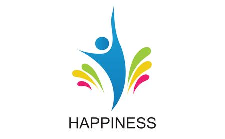 Happiness 向量圖像