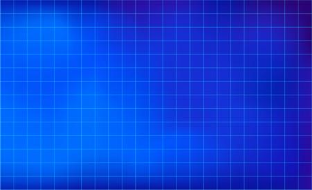 Graph paper grid lines blue color background