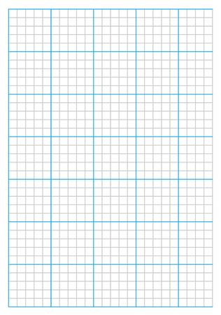 A10 size graph paper