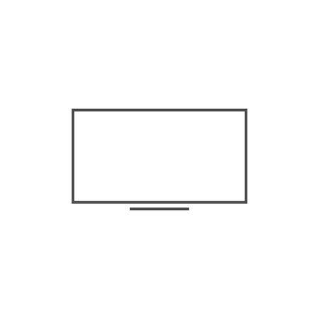 LED, LCD, monitor and desktop icon