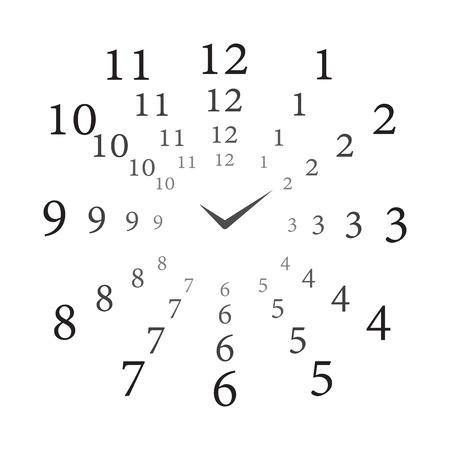 Clock long time 向量圖像