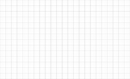 Graph paper dashes grid lines